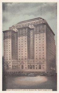 NEW YORK CITY, 1930s; The Roosevelt (Hotel)