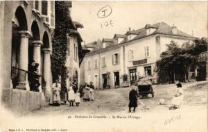 CPA St-MARTIN-d'URIAGE - Rue Scene - Env. de GRENOBLE (489789)
