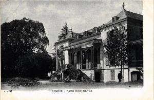 CPA AK GENEVE Parc Mon Repos SWITZERLAND (705368)