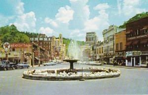 Arkansas Hot Springs Crystal Water Fountain Intersection Of Whittington Avenu...