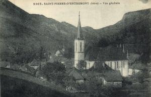 CPA Saint-Pierre D'Entremont (Isere) - Vue generale  (123825)