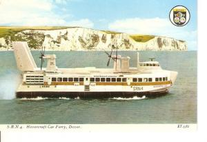 Postal 041070 : SRN4 Hovercraft Car Ferry Dover