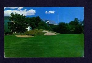 MA Tedesco Golf Course Golfing Club MARBLEHEAD MASS Postcard Massachusetts