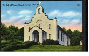 HARVEYS LAKE, Pennsylvania, 1930-1940's; Our Lady Of Victory Chapel