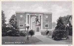 New Jersey Burlington Memorial Hall 1946