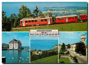 Postcard Modern Rorschach-Heiden Bergbahn
