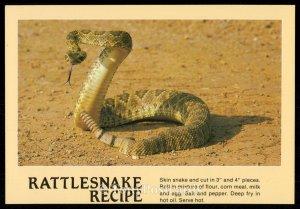 Rattlesnake Recipe
