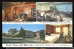 Lamies Tavern and Motor Inn  on US 1 Hampton New Hampshire