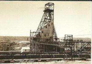 CF-196 MN, Ely, Pioneer B Mine Equipment Real Photo Postcard RPPC EKT Paper