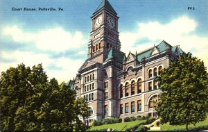 Pennsylvania Pottsville Court House