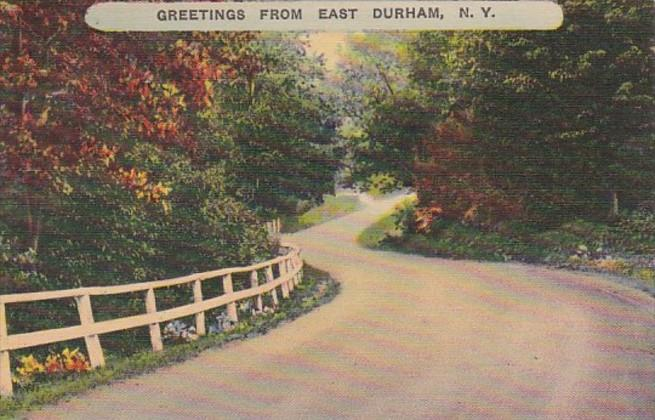 New York Greetings From East Durham