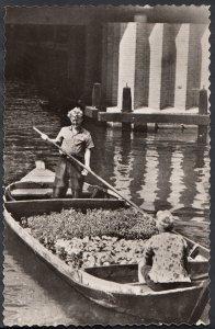 Netherlands Postcard - Bloemenboot Voor De Centrale Aalsmeerse Veiling  RS2134