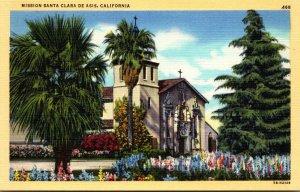 California Mission Santa Clara De Asis