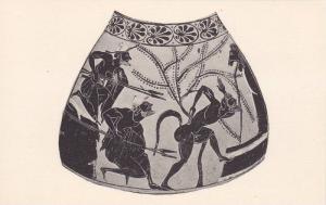 Greek Pottery, The Ambush Of Silenos By The Henchmen Of King Midas, Greece, 1...