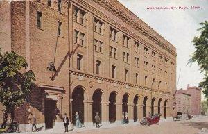 ST. PAUL, Minnesota, PU-1913; Auditorium