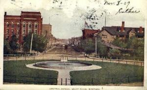Central Ave. Great Falls MT 1909