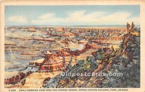 Publisher Fred Harvey Postcard H-2911 National Park 1942