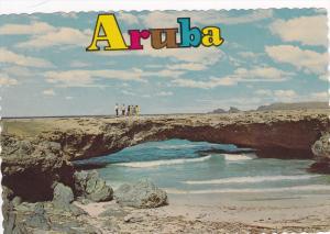 Natural Bridge, North Coast of Aruba, Antilles, 50-70´s