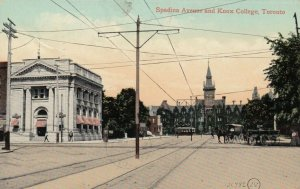 TORONTO, Ontario, Canada, 1909; Spadina Avenue and Knox College