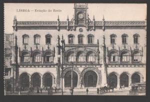 109234 Portugal LISBOA Lisbon Estacao do Rocio Vintage PC