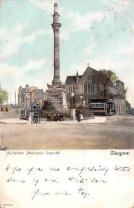 Glasgow Battlefield Monument Langside Statue Tram