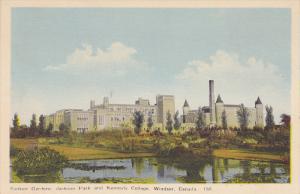Sunken Gardens, Jackson Park and Kennedy College, Windsor, Ontario, Canada, 3...