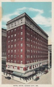 KANSAS CITY , Missouri , 1910s ; Hotel Stats