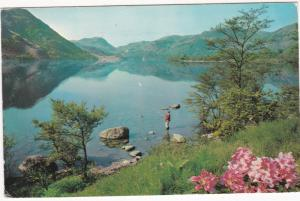 Postcard Cumbria Lake District Ullswater from Gowbarrow Park