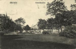germany, AACHEN, Heinrichsallee (1907) Stamp