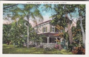 Florida Fort Myers Home Of Thomas A Edison