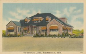 THOMPSONVILLE , Connecticut, 1930-40s ; The Mountain Laurel Restaurant