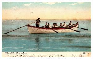 11271    Life Boat   afloat DPO 1 Point 0Woods NY