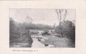 JOHNSONBURG , New York , Pre-1907; Mill Dam