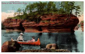 Wisconsin  Lone Rock  , The Dells Wisconsin River