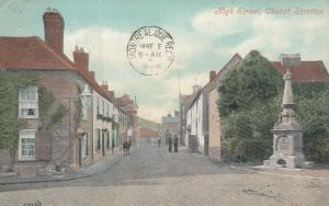 Church Stretton, Shropshire, England, UK, 1908 ; High Street