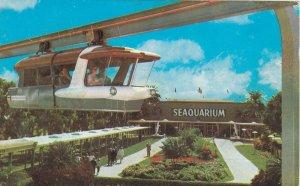MIAMI , Florida , 50-60s ; Seaquarium Monorail