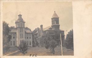 TSC State College? Victorian Campus Bldgs~Italianate~Belltower RPPC c2920