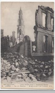 France; Arras, Rue De Recollets PPC LL No 4, Unposted, WW1 Damage