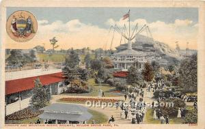 Willow Grove Park, Pennsylvania, PA, USA Postcard Airships and Mountain Sceni...