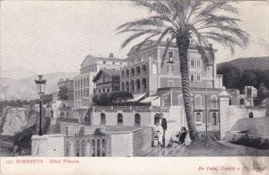 Hotel Vittoria, Sorrento (Naples), Sorrento, Campania, Italy, 1900-1910s