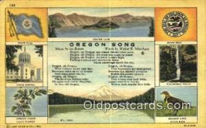 Crater Lake, Oregon Post Card ;      :             Crater Lake, OR Crater Lak...