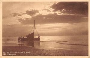 Natuurpracht, La, tout n'est qu'ordre et beaute, boat, Heyst s/Mer a/Zee 1938