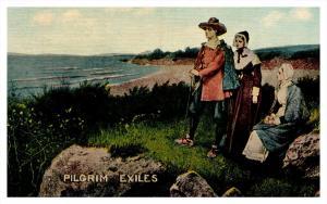 Massachuesetts ,  Pilgrims Exiles