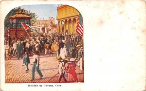 Holiday Havana Cuba, Republica de Cuba Unused