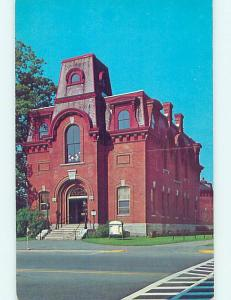 Unused Pre-1980 LIBRARY SCENE St. Johnsbury Vermont VT hs2145@