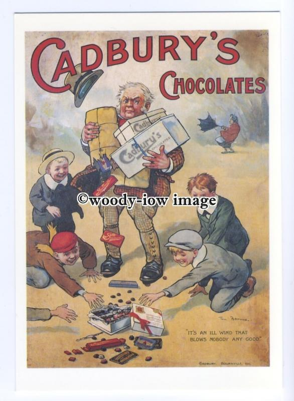 ad0536 - Cadburys Milk Chocolate -  Modern Advert Postcard