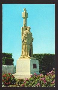 San Diego, California/CA Postcard, Statue, Cabrillo Monument, Point Loma