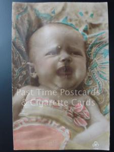 'Baby Crying' (Sound Insert D.R.G.M. No.875460) c1926 RP - Pub by A.W.H.