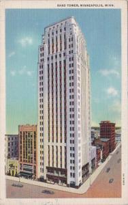 Minnesota Minneapolis Rand Tower Curteich