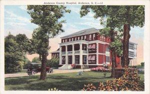 ANDERSON , South Carolina , 1910s ; Hospital